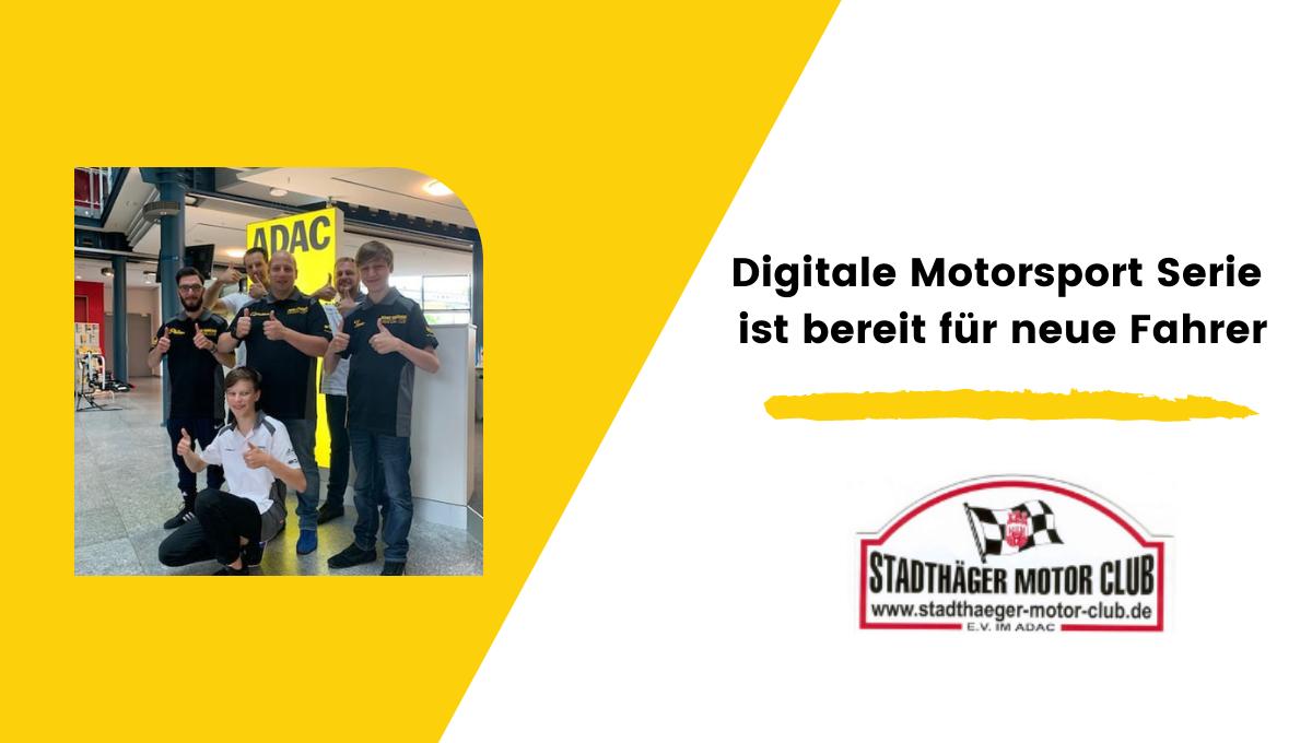 Digitale Motorsport Serie ist bereit für neue Fahrer