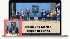 Read more about the article Doppelspitze mit Schulz und Harms beim Kartslalom